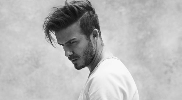 David Beckham's buff body is on show as he models the new Bodywear collection