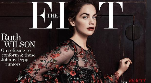 Ruth Wilson on the cover of The Edit