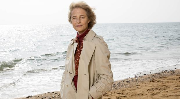 Charlotte Rampling plays barrister Jocelyn Knight in Broadchurch (ITV)