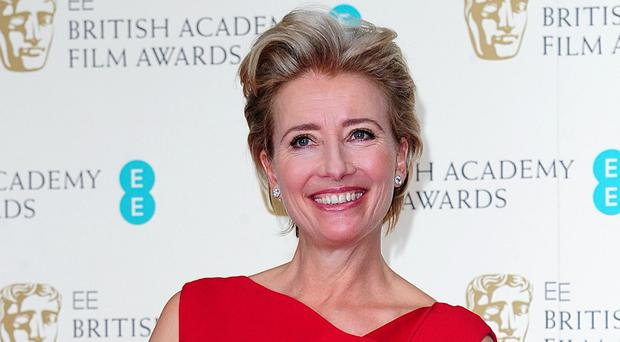 Oscar winner Emma Thompson is among celebrities who said they were