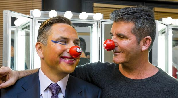 Britain's Got Talent judges David Walliams and Simon Cowell are supporting this year's Comic Relief fundraising campaign (Tom Dymond/Comic Relief/PA)