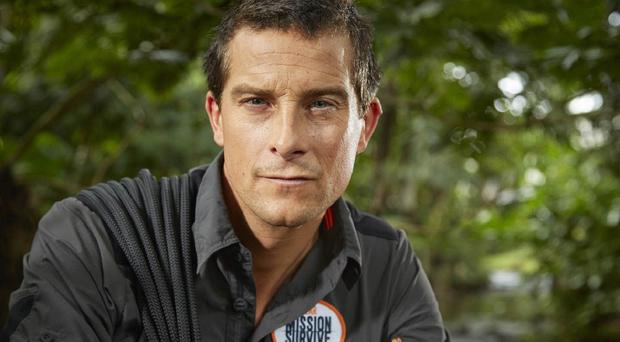 Bear Grylls will put celebs through their paces in Mission Survive (ITV)