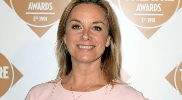 Tamzin Outhwaite is back on the stage