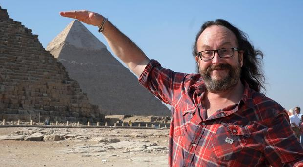 Dave Myers heads to Egypt for BBC Two's new show, A Cook Abroad