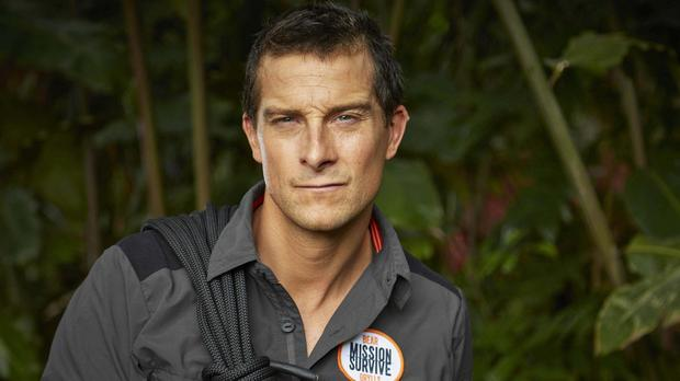 The Island star Bear Grylls