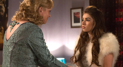 Laurie Brett as Jane Beale and Mimi Keene as Cindy in a typical Enders moment
