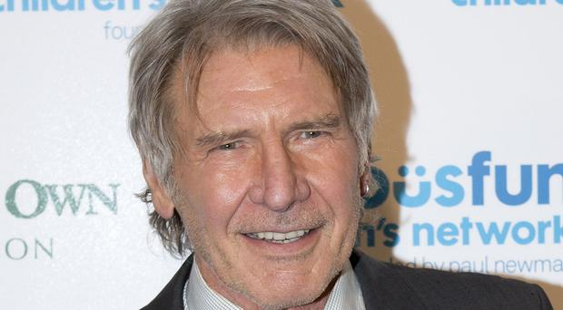 Harrison Ford crash-landed on a golf course in California.