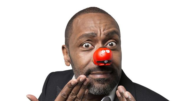 Lenny Henry will be one of the presenters at the London Palladium for this year's Red Nose Day