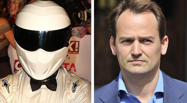 The Stig (left) and Ben Collins.