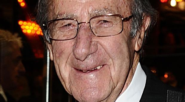 File photo dated 3/12/2009 of veteran TV presenter Shaw Taylor, best known for hosting the classic crime-solving television programme Police 5, who has died.