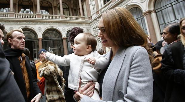 Tamara Ecclestone daughter Sophia celebrated her first birthday with a party where a zebra foal, three lambs and two miniature Shetland ponies entertained