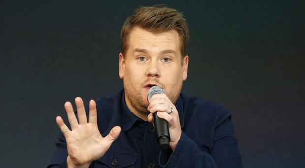 James Corden urged people not to judge his new American chat show prematurely