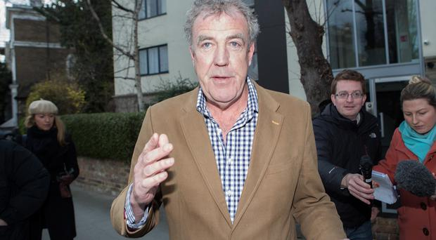 Jeremy Clarkson wrote the piece before his attack on producer Oisin Tymon came to light