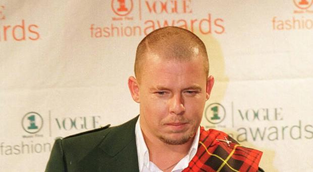 Alexander McQueen's work has been honoured with a viewing