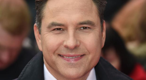 David Walliams was among those whose voices featured in the ad