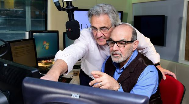 John and David Suchet play an April Fool prank on Classic FM listeners