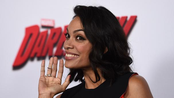 Rosario Dawson takes on the role of nurse Claire Temple in Marvel's Daredevil (AP)