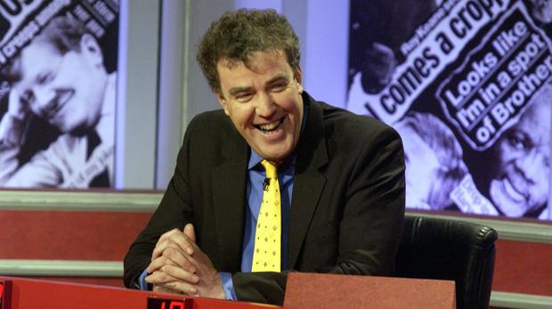 Jeremy Clarkson during a previous appearance on Have I Got News For You