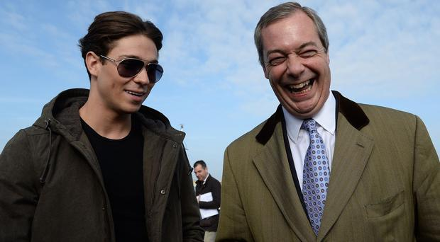 Joey Essex met Ukip leader Nigel Farage on the campaign trail but David Cameron has turned down his request for an interview