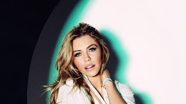 Abbey Clancy is joining the campaign against breast cancer