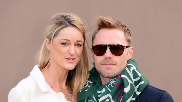 Ronan Keating and Storm Uechtritz are to marry (Dominic Lipinski/PA Wire)