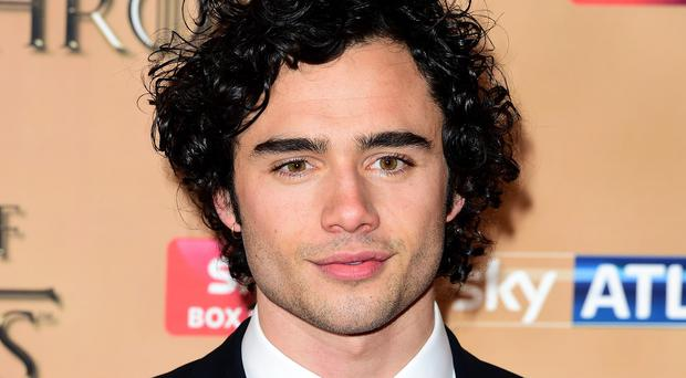 Toby Sebastian attending the world premiere of the fifth series of Game Of Thrones at the Tower of London last month (Ian West/PA Wire)