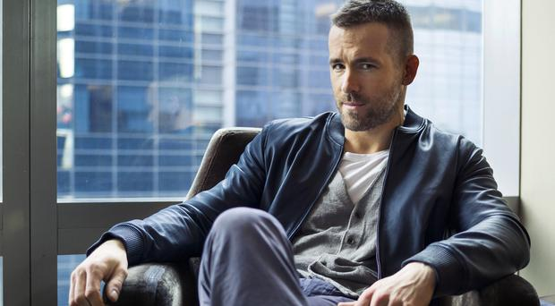 Ryan Reynolds is in Vancouver filming his new movie Deadpool