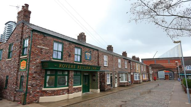 The Coronation Street set at Media City in Manchester