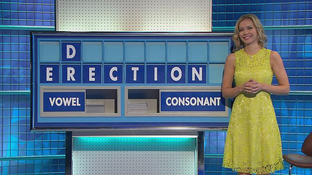 Two contestants on Countdown cause a few giggles with an eight-letter solution 'erection'. But it is Dr Phil Hammond who managed to get the 'D' in the mix with 'recondite'