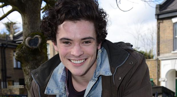 Jonny Labey, playing Paul Coker, is a new arrival in Albert Square