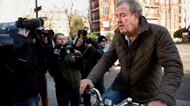 Jeremy Clarkson thanked people who had written to say they will miss him on Top Gear