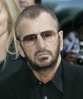 Drums legend: Ringo Starr