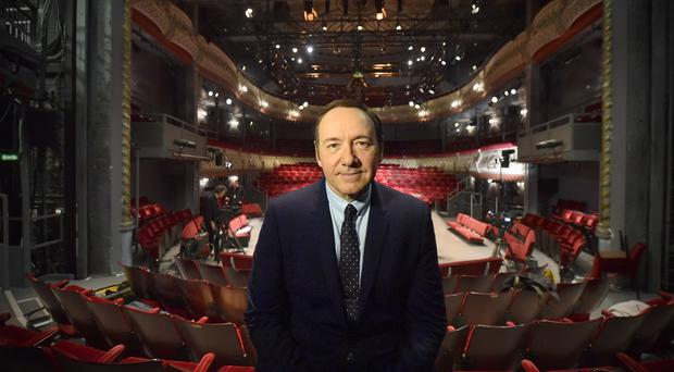 Kevin Spacey spent 12 years as artistic director of the Old Vic