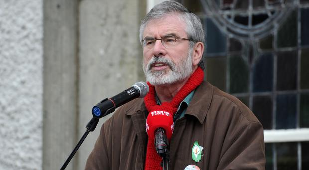 Accused: Gerry Adams