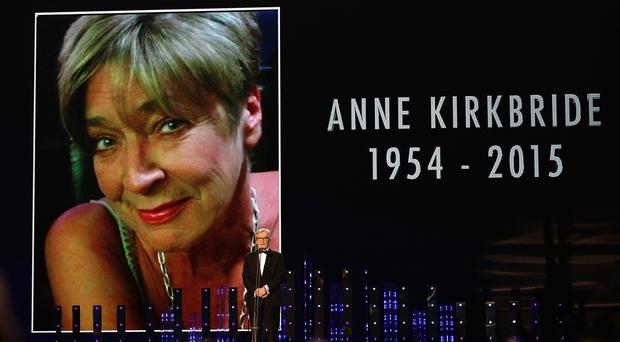 Corrie favourite Anne Kirkbride died in January