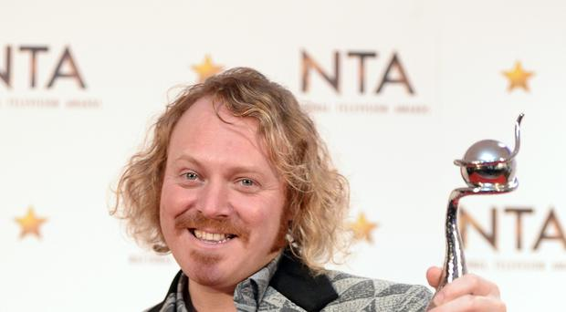 Birthday boy Keith Lemon received a memorable birthday present from Gok Wan