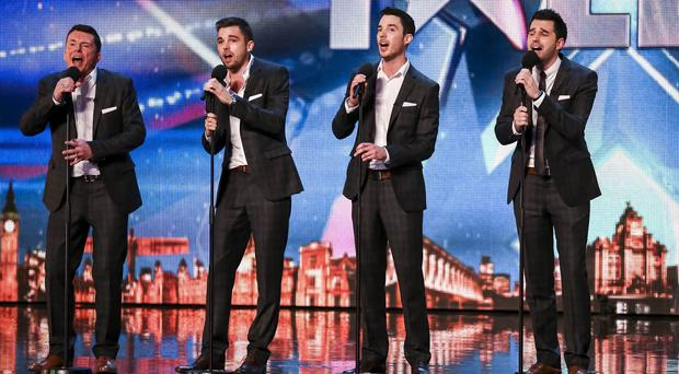 The Neales during the audition stage of Britain's Got Talent (Syco/Thames TV/PA)