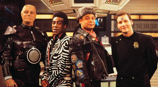 Kryten, Cat, Lister and Rimmer are reuniting for two more series of Red Dwarf (Handout/PA Wire)