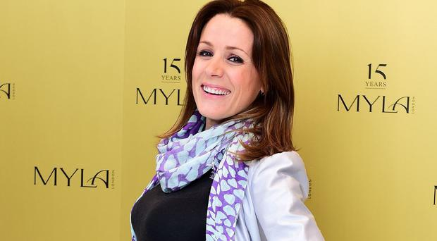 Natalie Pinkham has told of the trauma of giving birth