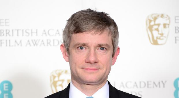 Martin Freeman will make his Marvel debut in the third instalment of the Captain America franchise (Dominic Lipinski/PA Wire)