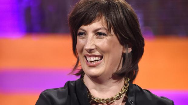 Miranda Hart told Graham Norton that she was left