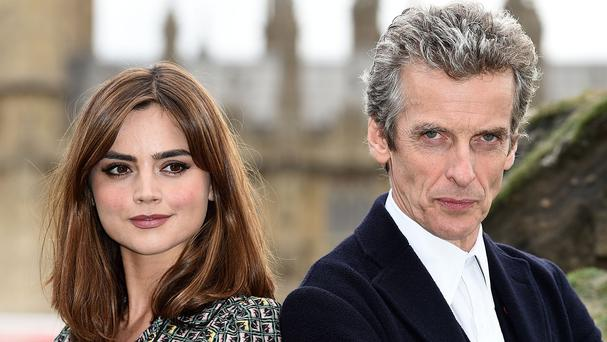 The new series of Doctor Who, starring Jenna Coleman and Peter Capaldi, returns in the Autumn