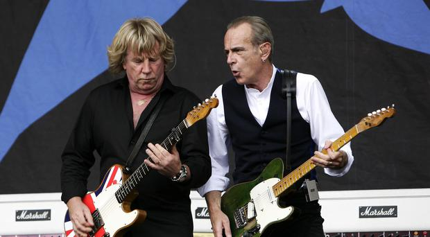 Rick Parfitt (left) and Francis Rossi of Status Quo