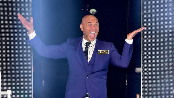 Simon Gross is evicted from the house on the launch night of the latest series of the Channel 5's Big Brother.
