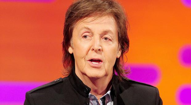 Sir Paul McCartney played a concert as part of the Robin Hood Foundation's annual benefit