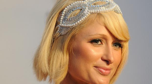 Paris Hilton dazzled at an awards show in London