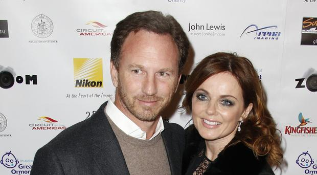 Geri Halliwell and Christian Horner as the the 42-year-old singer is reportedly set to marry the Formula One boss at Syon House in southwest London.