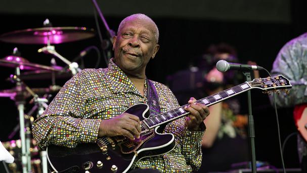 BB King has died aged 89