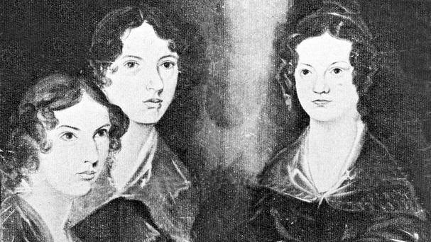 An undated picture of the Bronte sisters