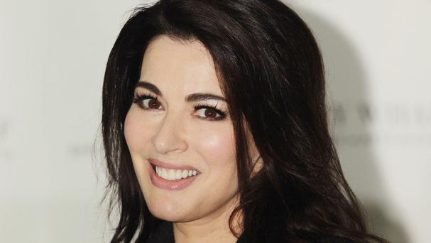 Nigella Lawson was be announcing voting results in the show